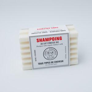 Shampoing Solide Au lait d'ânesse tous types de cheveux, nature et écologique de chez OHSOGREEN
