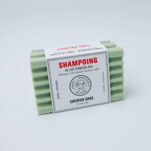 Shampoing Cheveux gras au lait d'Ânesse Bio, fini le plastique, disponible dans toute la france en 48H avec OHSOGREEN. Wissembourg , haguenau