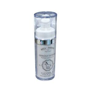 sérum crème pour le contour des yeux au lait d'anesse. En vente ou livraison par oso green, ohsogreen, hozogreen