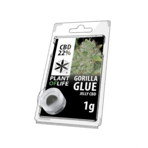 jelly de chanvre goût gorilla glue 1 gramme et 22% CBD. Cbd shop reichshoffen