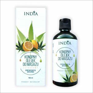 bouteille d'huile de massage aux agrumes de 100 ml- livraison en france en 48heures, cbd shop, cbd haguenau, cbd niederbronn
