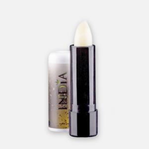 Baume Levre India 3,8g, super hydratant, riche pour protéger et réparer les lèvres, en vente à la boutique et sur internet sur www.ohsogreen.fr