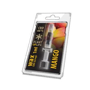 seringue de WAX 66% de CBD goût mango kush livraison cbd-shop magasin-de-cbd-niederbronn, cbd-haguenau