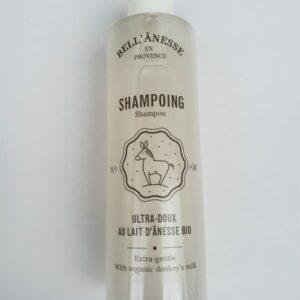 Shampoing label anesse au lait d'anesse frais et bio. En vente chez ohsogreen